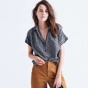 Madewell | Central Shirt in Gingham Check 0427